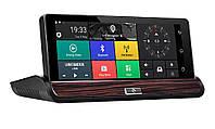 DVR регистратор с GPS навигацией и 3G. Android, Экран 7.0, Wi-Fi, Bluetooth