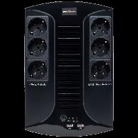 ИБП линейно-интерактивный LogicPower LP-850VA-6PS