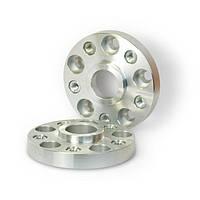 Автомобильное расширительное кольцо (Spacer) H = 25 мм. Футорка M14x1,50 PCD5*100 DIA57,1