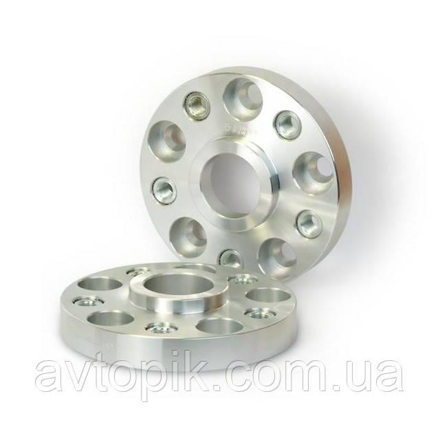 Автомобильное расширительное кольцо (Spacer) H = 25 мм. Футорка M14x1,25 PCD5*120 DIA72,5