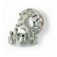 Автомобильное расширительное кольцо (Spacer) H = 25 мм. Футорка M12x1,25 PCD5*100 DIA57,1