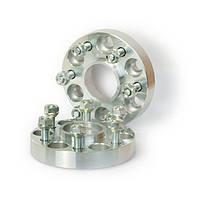Автомобильное расширительное кольцо (Spacer) H = 25 мм. Футорка M12x1,25 PCD6*114,3 DIA66,1
