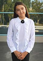 Блузка школьная белая для девочки арт.103, фото 1