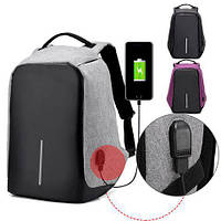 Рюкзак Travel Bag 9009 с разъемом USB для зарядки