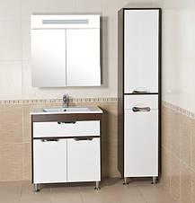 Зеркало АКВА РОДОС Ника 75 венге со шкафчиком, фото 3