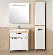 Зеркало АКВА РОДОС Ника 75 венге со шкафчиком, фото 2