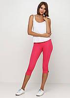 Бриджи для фитнесас карманами сзади (розовый), фото 1