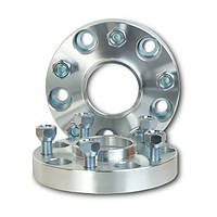 Автомобильное расширительное кольцо (Spacer) H = 25 мм. Футорка M12x1,25 PCD5*100 DIA56,1