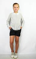 Детские шорты школьные чёрные для девочки, фото 1