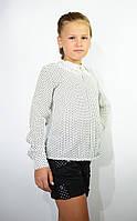 Детские шорты школьные чёрные для девочки