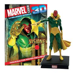 Мініатюрна фігура Герої Marvel 3D №14 Віжн (Centauria) масштаб 1:16
