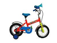 Велосипед дитячий d-12 з боковими колесами Tiger 58 ТМХВЗ