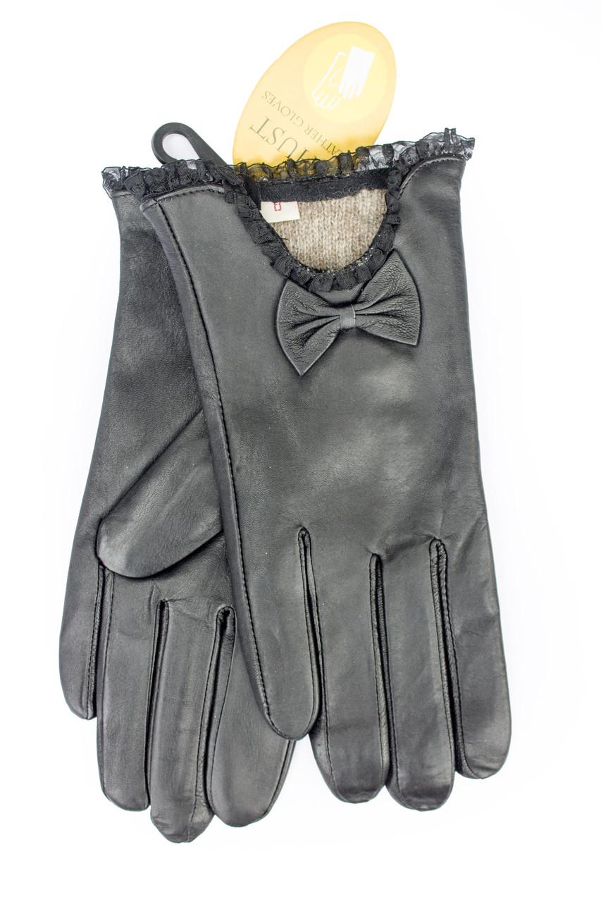 Женские кожаные перчатки 303