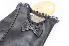 Женские кожаные перчатки 303, фото 2