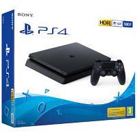 Sony PlayStation 4 (PS4) Slim 500GB Jet Black (CUH-2116A)