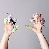Кукла на палец, разные цвета разные цвета Икеа Титта Дьюр, 101.592.78 Ikea Titta Djur