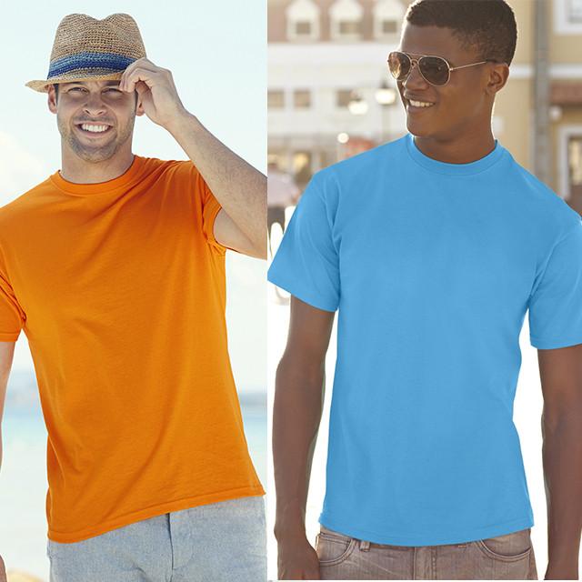 98e32e6313bb4 Мужская футболка класическая 100% хлопок 61-036-0 - самая низкая ...
