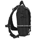 Рюкзак-сумка мала Chameleon Black, фото 3