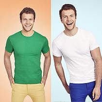Мужская футболка супер-мягкая 100% хлопок 61-412-0