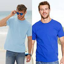 Мужская футболка плотная и мягкая 61-422-0