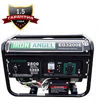 Генератор бензиновый IRON ANGEL  EG 3200 E