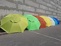 Пляжный зонт 2 м плотная ткань, стальные спицы, ветровой клапан , фото 1