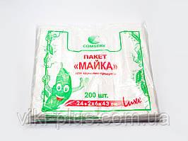 Пакет Майка рулон 24*43 (200шт)