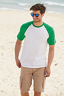 Мужская футболка комбинированная Short Sleeve Baseball 61-026-0