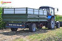 Тракторный самосвальный прицеп ТСП-6т грузоподъемность до 4,5 тонн