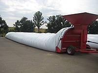 Полиэтиленовые рукава мешки для хранения зерна, кукурузы, силоса.