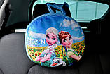 Подушка-рюкзак Эльза Холодное сердце в машину, фото 2