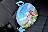 Подушка-рюкзак Эльза Холодное сердце в машину, фото 4