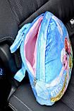 Подушка-рюкзак Эльза Холодное сердце в машину, фото 5