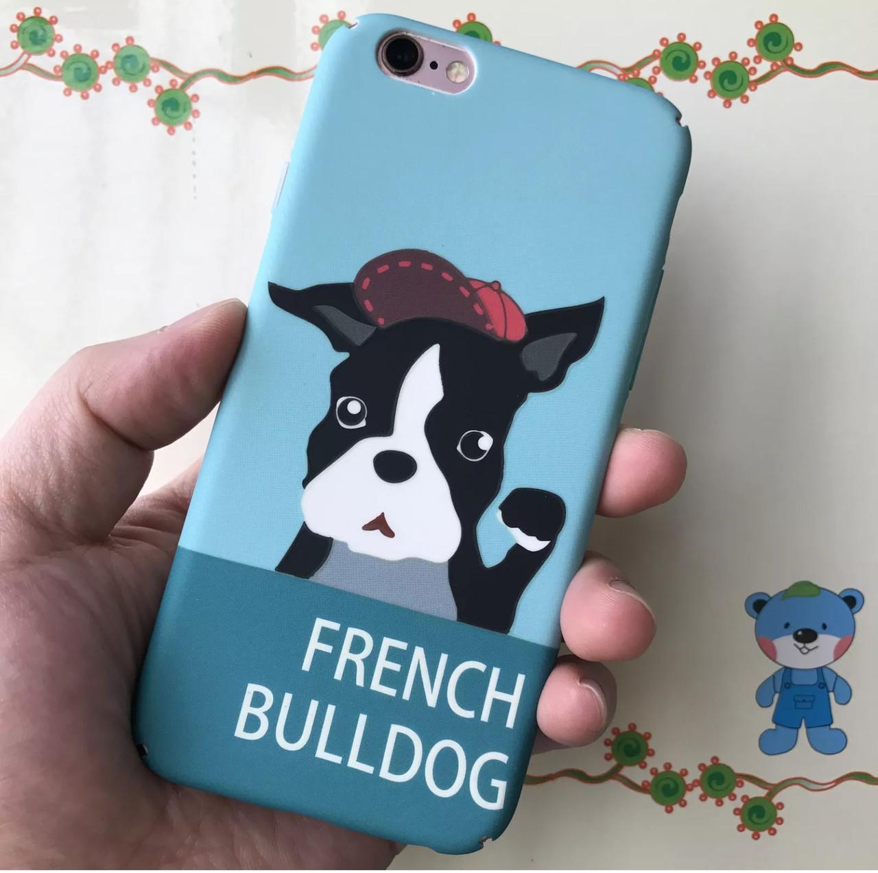 Милый надежный чехол  для вашего iPhone 6/6s/6+ с собакой