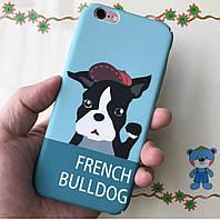 Милый надежный чехол  для вашего iPhone 6/6s/6+ с собакой, фото 1