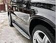 Пороги площадки Mercedes X164 / GL450, фото 10