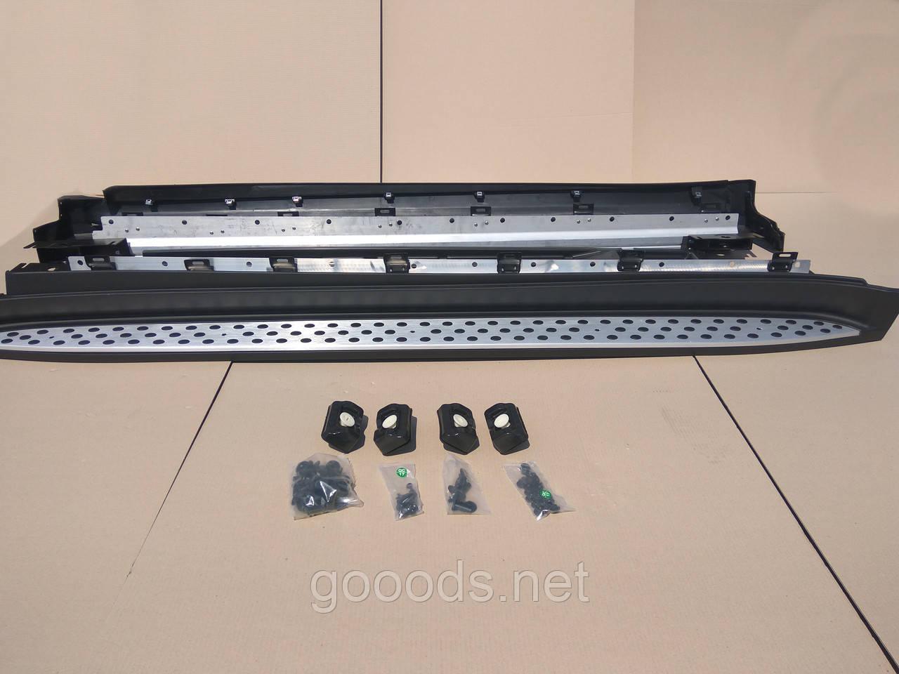 Пороги площадки Mercedes X164 / GL450