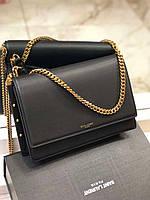 Елегантная женская сумочка SAINT LAURENT Zoe (реплика), фото 1