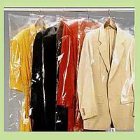 Полиэтиленовые чехлы для хранения одежды 65/130 см, 15 микрон