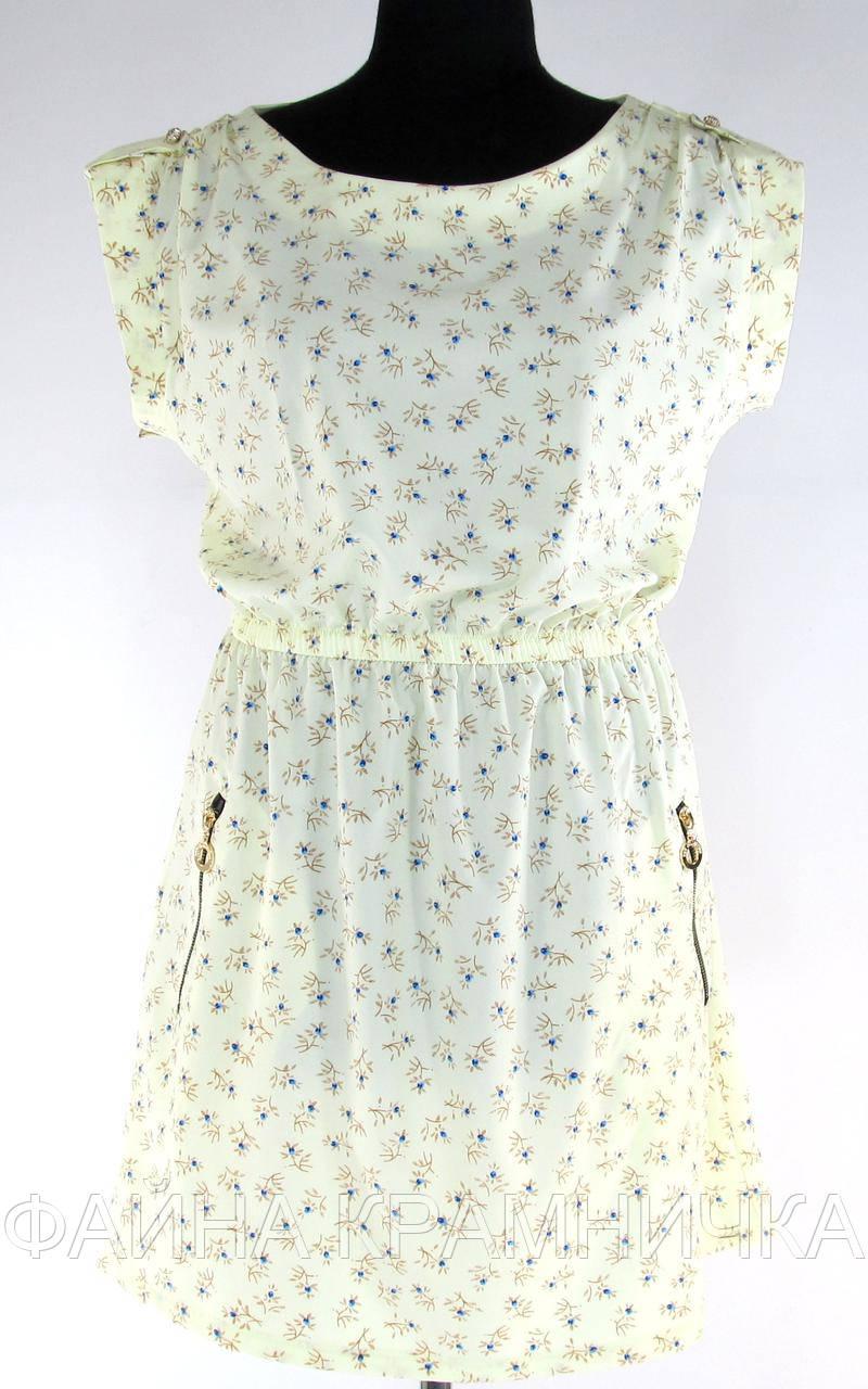 Сукня з блискавками на кишенях рр.44-52