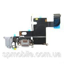 "Шлейф Apple iPhone 6S (4.7"") (+ Charge/Microphone/Head) Grey"