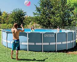 Каркасный бассейн Intex 26734 Metal Frame Pool 457х107 см