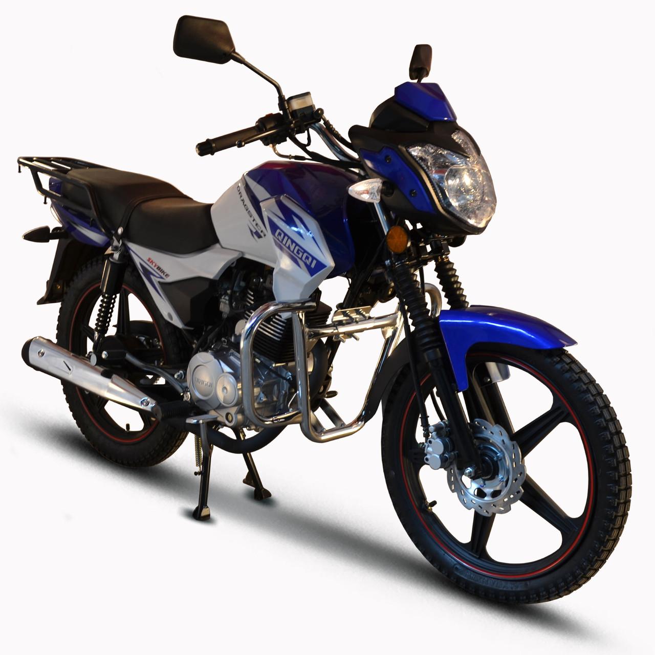 Мотоцикл SkyBike DRAGSTER 150 Синій sbdr0001