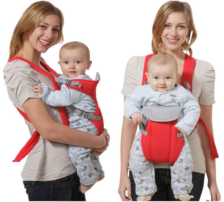 Рюкзак-слинг для переноски малышей Baby Carriers, цвет синий