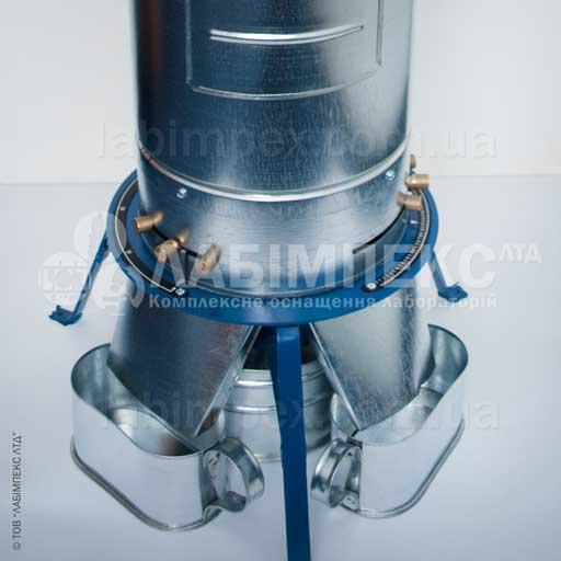 БИС-1У- аппарат для смешивания и деления зерна.