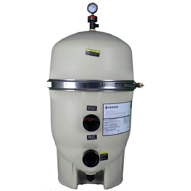 Диатомовый фильтр для бассейна Pentair 180006 FLT FNS 24 + клапан управления + земля диатомитовая  23 кг