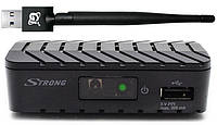 Т2 ресивер с YouTube Strong 8203 + Wi-Fi адаптер