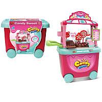 Игровой набор Мой Магазин Сладостей и Мороженого, прилавок - тележка, мороженое, звук, свет, CF8628