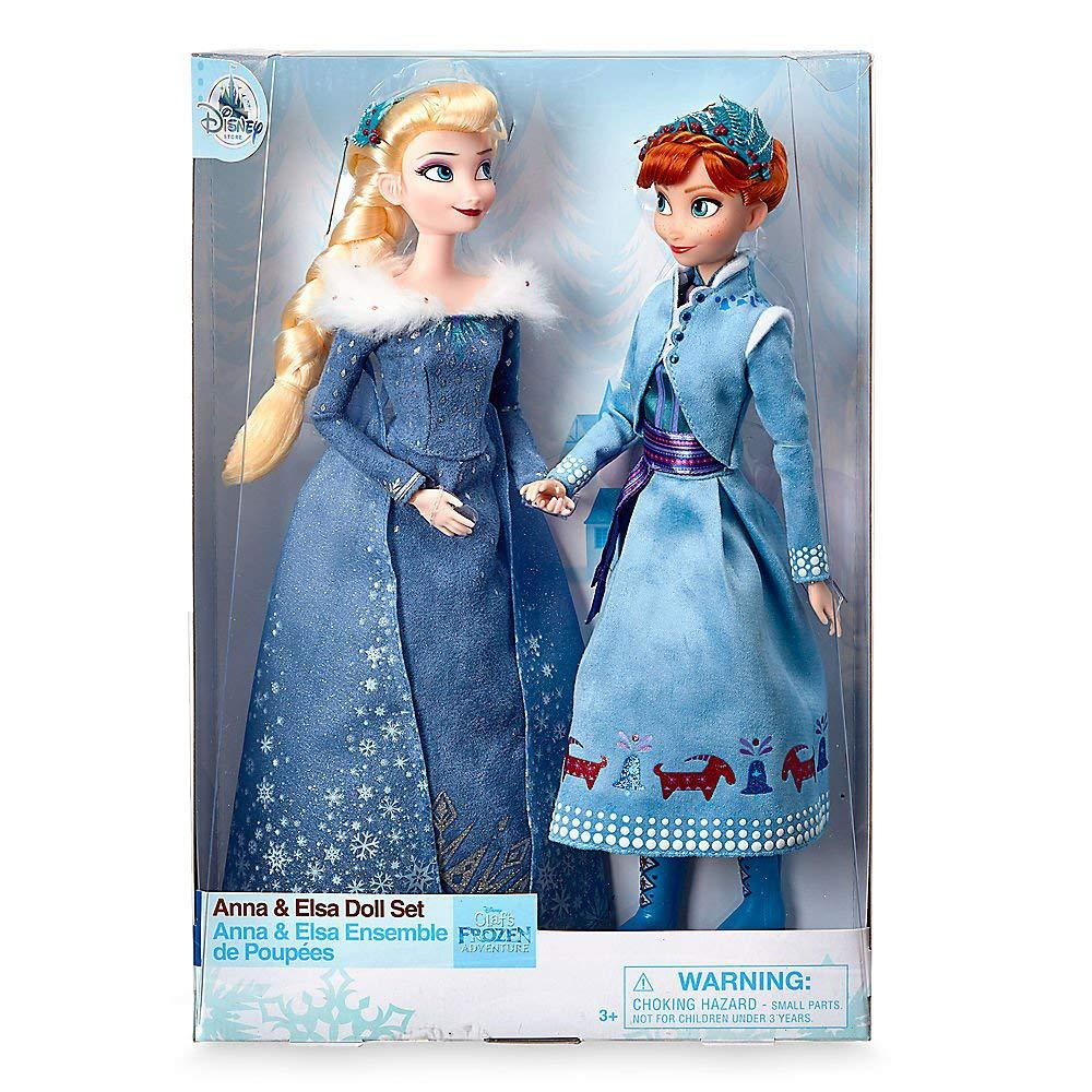 Анна и Эльза Холодное сердце лимитированный набор кукол DISNEY