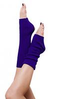 """Гетры для спортивно - бальных танцев """"Ensoul"""",  Фиолетовый, 40-60-80см"""